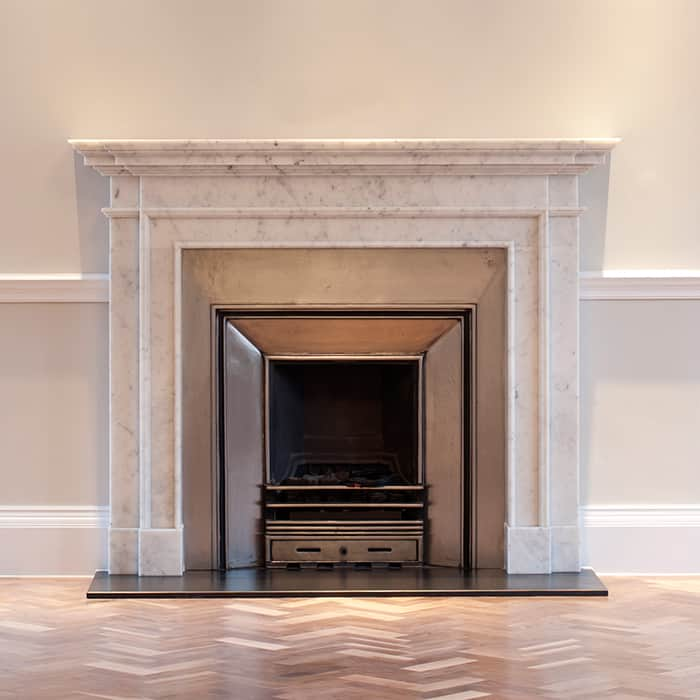 Carrara Fireplace The Stone Collection